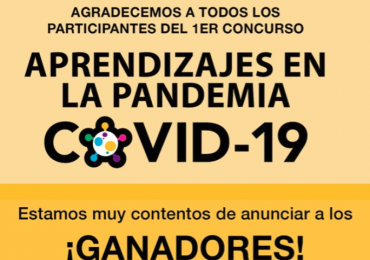 ganadores del 1er. concurso «Aprendizaje en la pandemia covid-19»