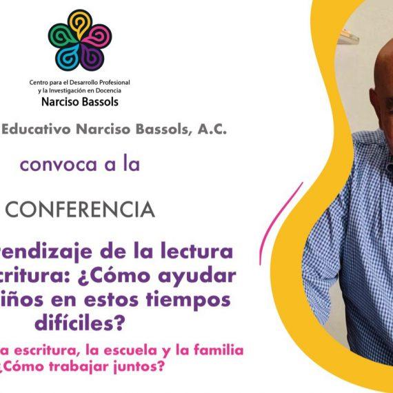 conferencia: aprendizaje de la lectura y la escritura, ¿Cómo ayudar a los niños en estos tiempo difíciles?